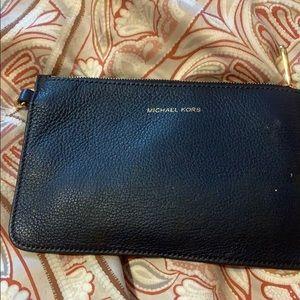 Navy blue Michael Kors wallet